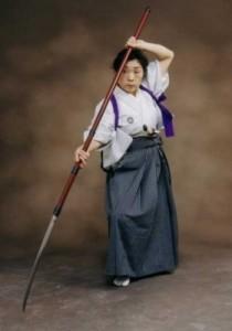 Нагинатадзюцу - боевое искусство владения нагинатой