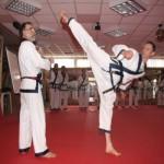 Стойки, тренировки в тансудо