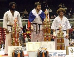 Тариел Николеишвили - чемпион мира по карате киокушинкай