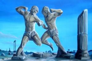 Панкратион древний олимпийский вид единоборств