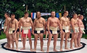 Сумо турнир в Москве