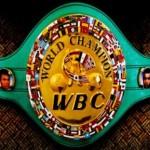 Чемпионский боксерский пояс по версии WBC