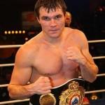 Известный российский боксер Григорий Дрозд