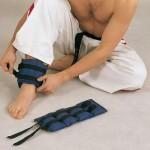 Тренировки с применением утяжелителей для ног