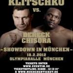 Бокс Виталий Кличко против Дерек Чисора 18 февраля 2012 года