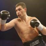 Александр Алексеев отстоял пояс чемпиона Европы по боксу