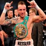 Миккель Кесслер выиграл боксерский пояс по версии WBC