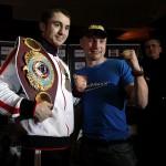 Бой за чемпионский титул по версии WBO Заур Байсангуров против Лукаш Конечны