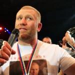 Сергей Харитонов одержал победу над Джоном Дельгадо