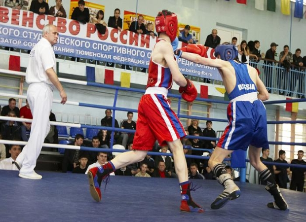 Всероссийское первенство по боксу в Анапе