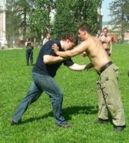 Техника славянского стиля самозащиты
