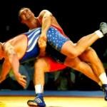 Борцы классики Мингиян Семёнов и Роман Власов выходят на ковер олимпийских игр